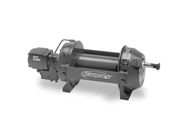 Ramsey RPH 15,000 w/ Manual Shifter on