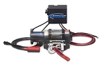Ramsey Badger 2500 w/ Roller Fairlead & 12 FT Wire Remote